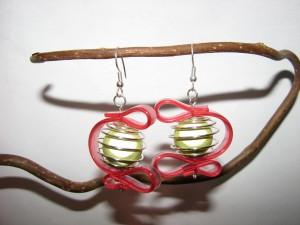 Boucles d'oreilles spirale et silicone img_1927-300x225